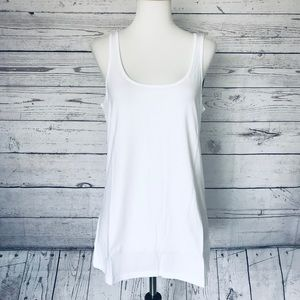 Lilly Pulitzer White tank top size extra large
